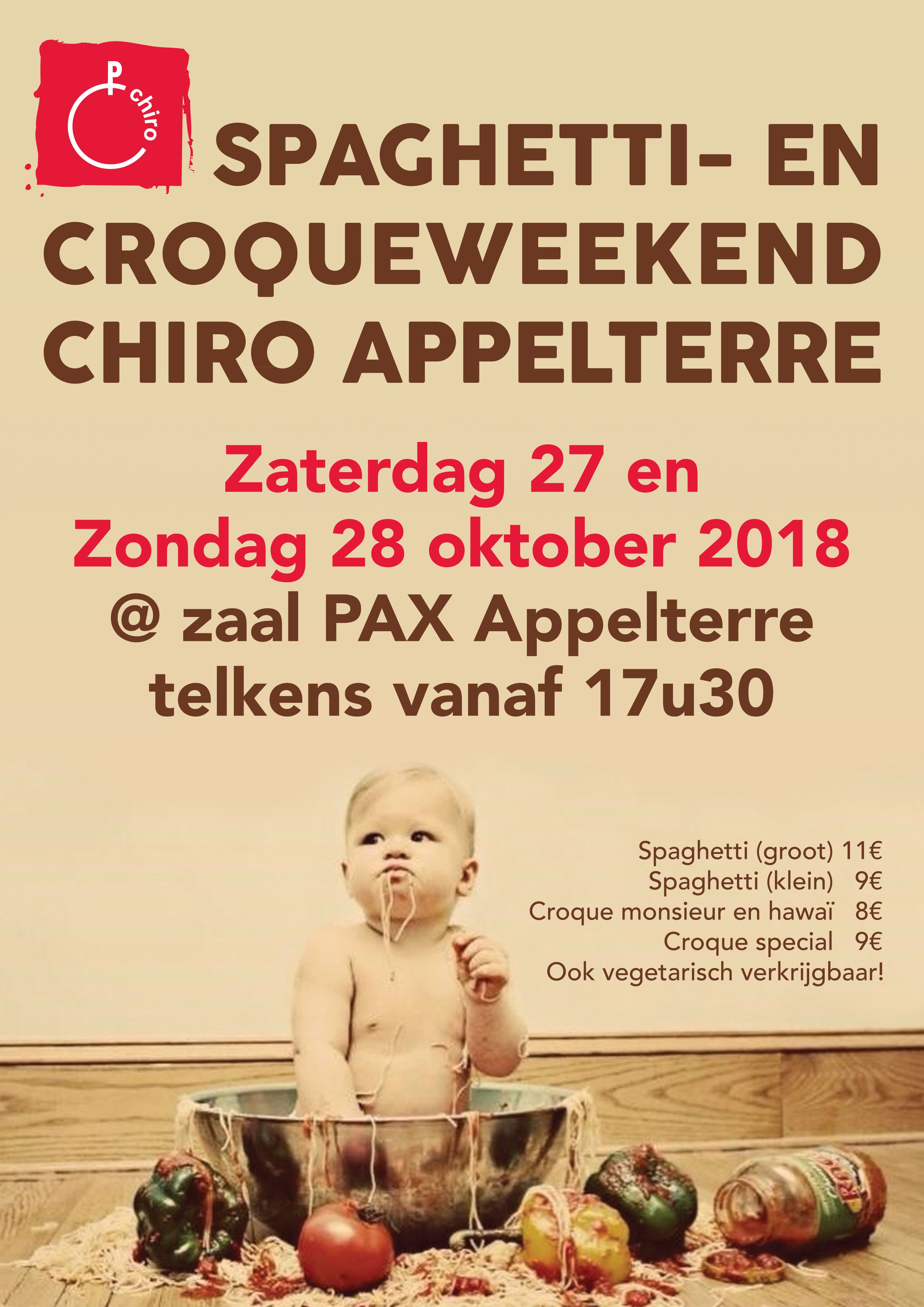 Spaghettiweekend Chiro Appelterre